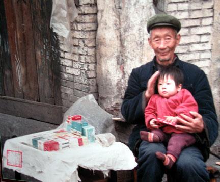 Grandpa:hand:child
